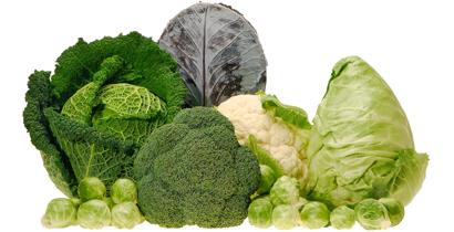 leafy greens, broccoli