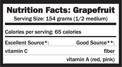 does grapefruit have protein