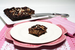 photo of cherry bread pudding