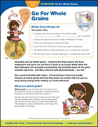 Go With Whole Grains Overview