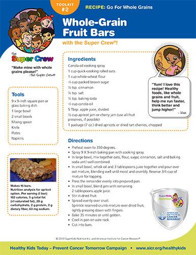 Whole-Grain Recipe
