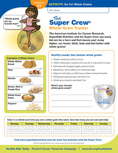 Whole Grains Activity cvr