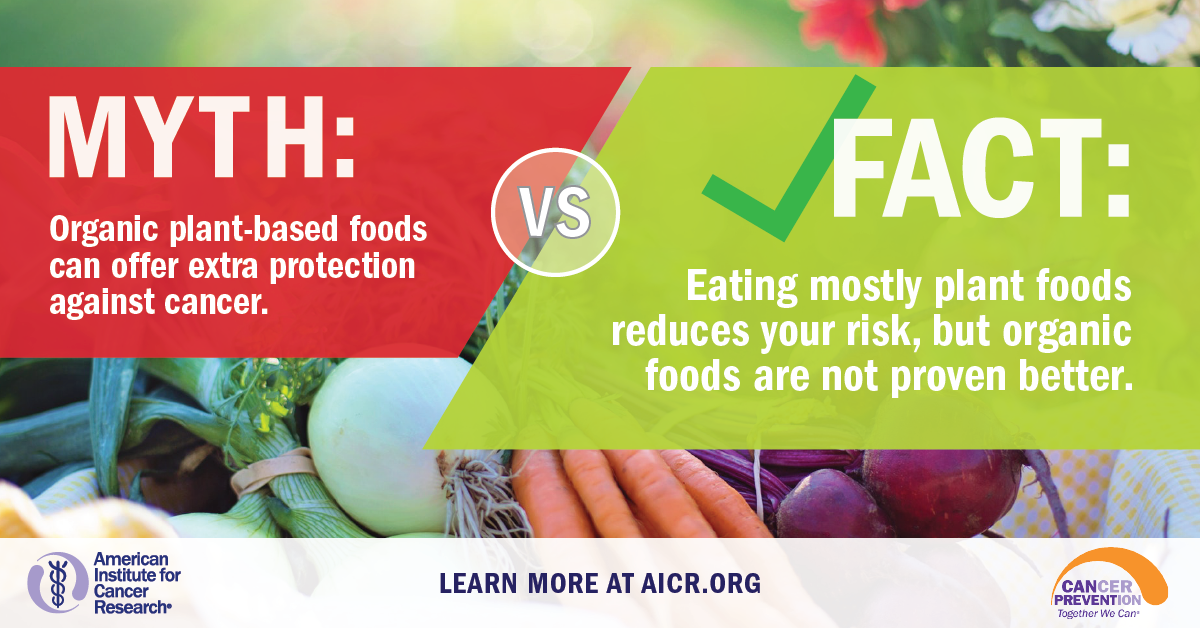 Myth vs Facts Plant Foods | American Institute for Cancer