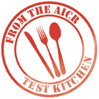 AICR Test Kitchen Stap logo