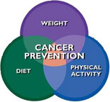 Cancer Prevention Venn diagram