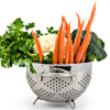 Colander full of Fresh Vegetables