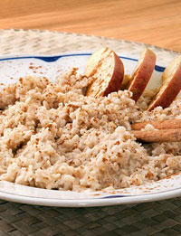 bulgur apples