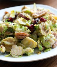 Brussels Sprouts and Nuts Salad