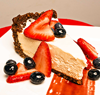 New York Style No-Bake Cheesecake