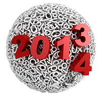 sphere with 2013/2014