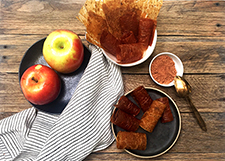 apple cinnamon fruit leathers
