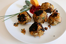 Greek Veggie Balls