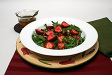 Arugula Kiwi Salad