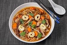 Cabbage Shiitake Mushroom Soup