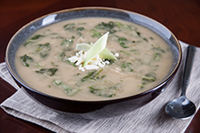 Greek Lima Bean Soup