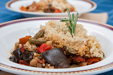Ratatouille with Millet