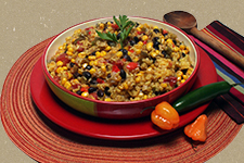 South of the Border Beans Rice