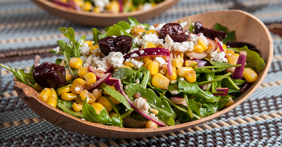 Cherry and Corn Salad