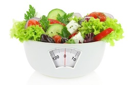 Salad weight loss