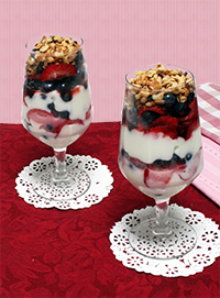 Berry Nutty Breakfast Parfait