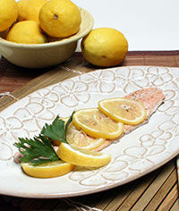 Lemon Baked Trout