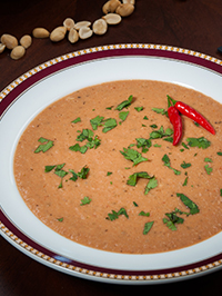 South American Peanut Soup