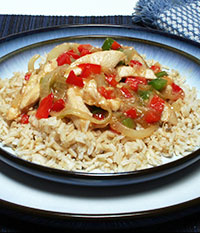 Spring Stir Fry Chicken