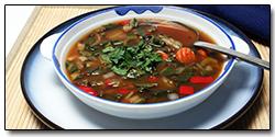 Asian Lentil Soup