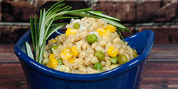 Barley Sweet Peas Corn Recipe