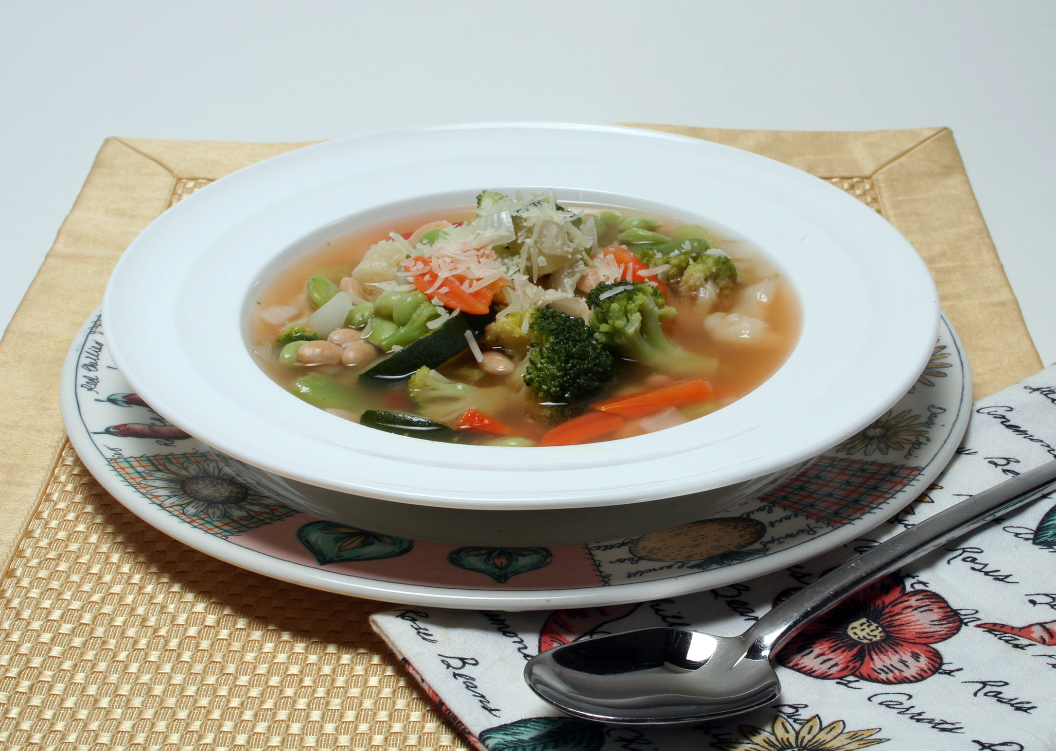 Eight-Vegetable Soup
