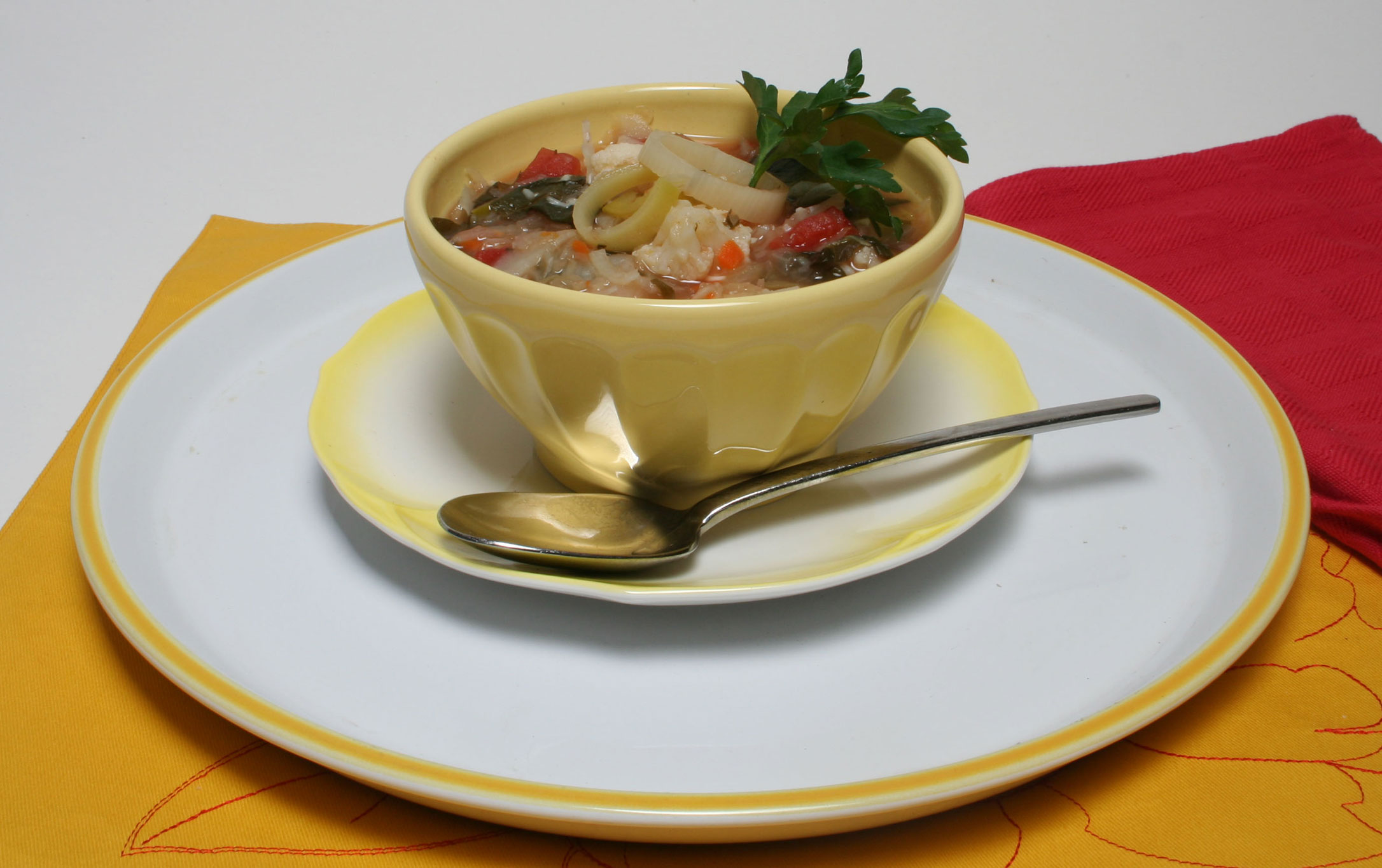 Ten Vegetable Soup