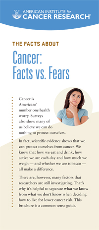 facts v fears brochure