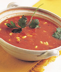 red pepper soup