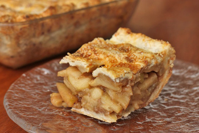 square apple pie