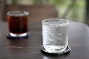 http://www.dreamstime.com/royalty-free-stock-photography-glass-water-cola-image21449207