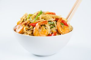 , Yummy, Healthy Singapore Noodles