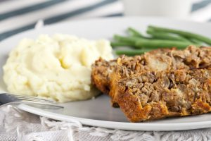 , Study: Vegetarian Meatloaf Just as Satisfying- and a Bonus for Cancer Prevention
