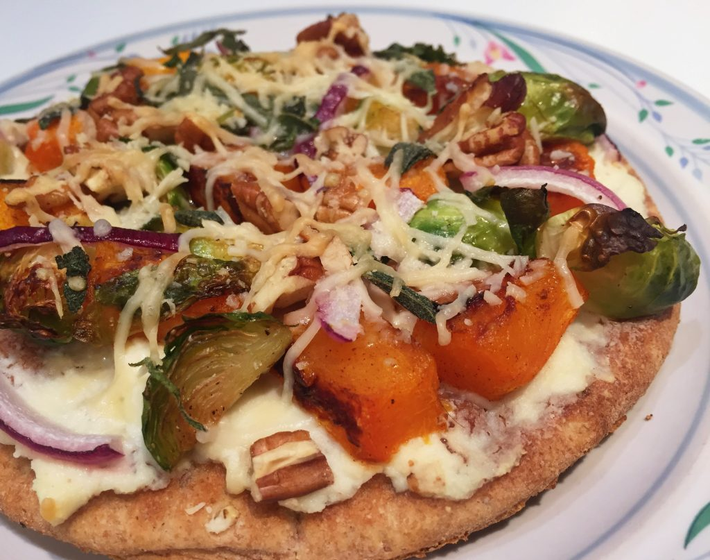 , Easy, Make Your Own Winter Veggie Pizza