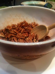 , Sprucing up your office snack with sweet and spicy pecans