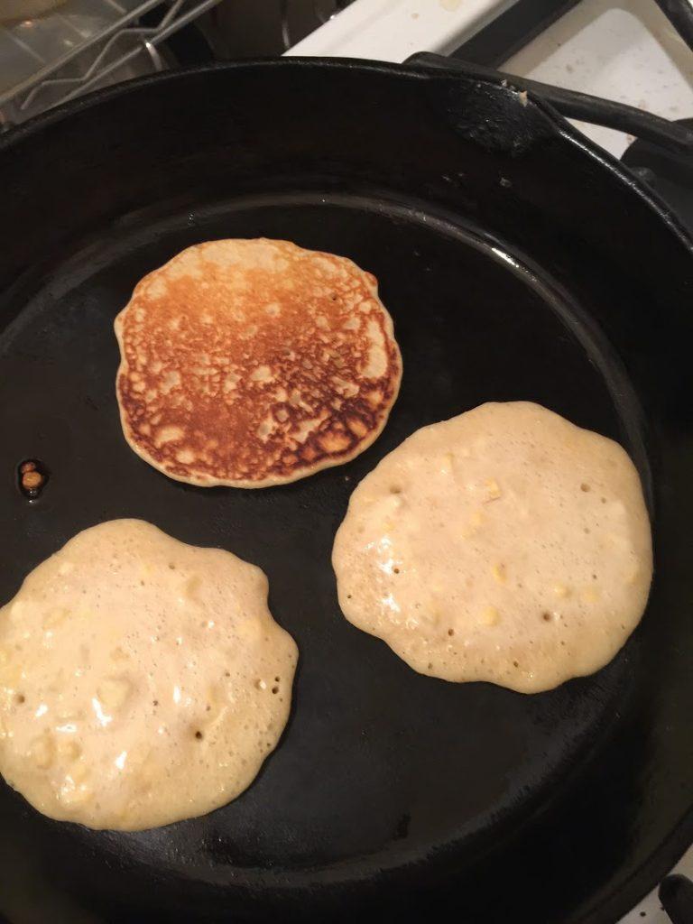 pancakcesturning