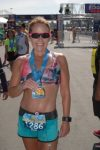 race, Marie Ortiz of TeamAICR, winning races and running marathons to inspire others