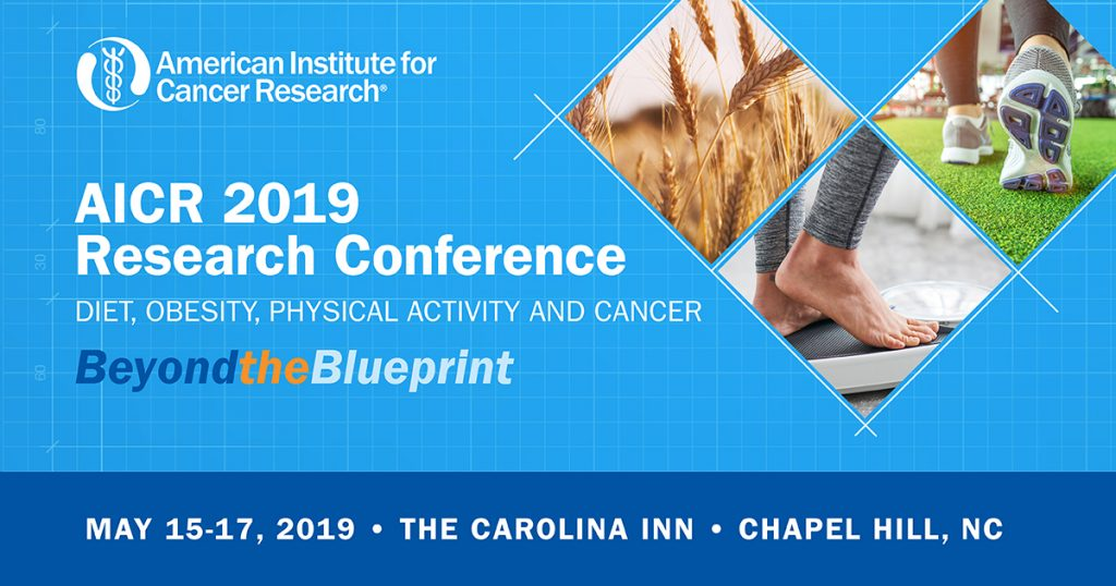 AICR 2019 Research Conference heading