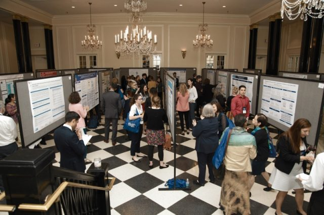 Nearly 50 researchers from around the world presented posters featuring the latest research on factors that influence cancer outcomes and survivorship.